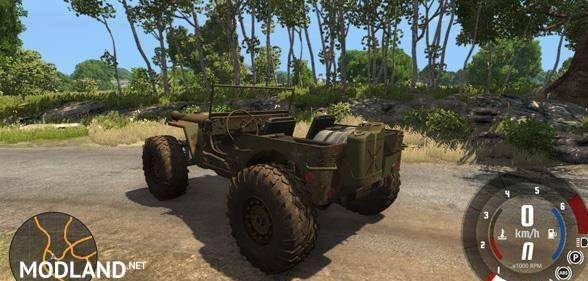 American Army Hell Jeep [0.5.6]